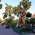 Die Karnevalsgestalten von Mazatlan.