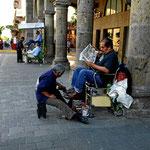 Gefühlsmäßig ist jeder zehnte Mexikaner ein Schuhputzer.