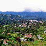 Der Ort  Boquete und seine direkte Umgebung