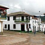 Typische Kolonialarchitektur in Mongui.