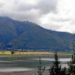 Die Laguna de Yahuacocha, an der die Finca liegt.