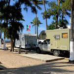 Unser Campingplatz in Mazatlan.