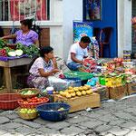 Der kleine Markt in San Pedro.
