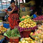 Der Markt von Antigua