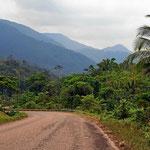 Die Landschaft um San Ignacio
