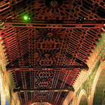 Viele Kirchen haben wundervolle Decken.
