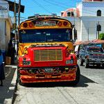 Sind sie nicht herrlich, die ungewandeltgen alten amerikanische Schulbusse.