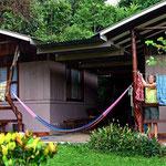 Große Wäsche in der Kingfisher Lodge.