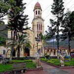 Die Kirche von Onzales am Parque central.
