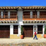 Spaziergang durch Villa de Leyva.