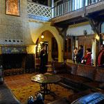 DAs Innere von Scotty's Castle.