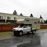 """Unser """"Campingplatz"""" für die Vancouver-Tage."""