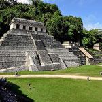 Die Ruinen von Palenque.