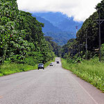 Die Trans-Americana im Süden von Costa Rica.