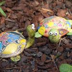 Schildkröten aus Ton