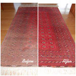 Rug Dyeing by The Rug Colorist
