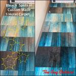 Carpet Dyeing @ 5 Star Hotel in California