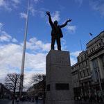 Jim Larkin Statue (2014年3月撮影/KOBAYASHI)