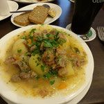 Irish stew, Davy Byrnes (2013年撮影/HIRASHIGE)