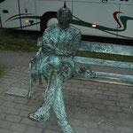 Patrick Kavanagh Statue (2005年9月撮影/KOBAYASHI)