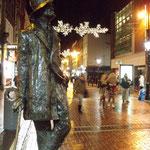 James Joyce Statue: 2 Earl St N, Dublin (2013年撮影/KOBAYASHI)