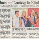 Miss und Mister Euro International 2013