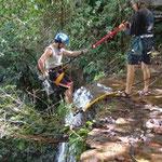 Canotaje en sangil, torrentismo, espeleologia, cascadas de juan curi, caminatas, cabalgatas en barichara, rappel en pinchote, paintball, todo en deportes y turismo