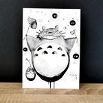 Totoro danseur