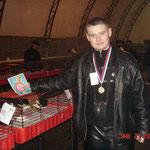 Золотая медаль  на выставке в Тихорецке