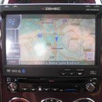 Zenec NC 510 Hauptunit mit TV, Navi, Kamera usw.