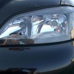 Klarglasscheinwerfer getönt von DEPO