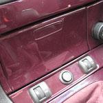 Lackierter Aschenbecher vorne mit Sitzheizungsschalter und Specialschalter