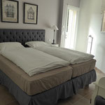 bedroom 5 with terrace access, beds 2x 90 x 200 cm