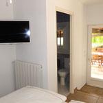 TV, terrace access, bathroom access