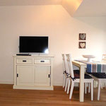 LED-Fernseher im Wohnraum