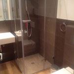 Shower in the ground floor
