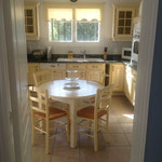 Kücheneingang vom Esszimmer aus