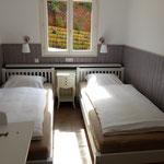 Zimmer 3 mit Einzelbetten, Matratzenmaße 90x200x21, Klimaanlage