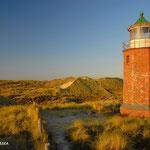 Kampener Leuchtturm Westseite