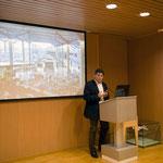Discours de Luis Utrilla, directeur du musée aéronautique de Malaga