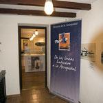 Malaga entrée de la salle d'exposition
