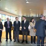 Arrivée de Fco. de la Torre, Maire de Malaga