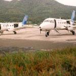 ...mit der Air Rarotonga