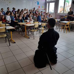 Samurai(Japanese Knight) appears in the Vendee Village