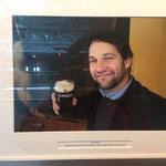 Mein Liebling Paul Rudd hat sich dort auch schon ein Guinnessbärtchen geholt :-))