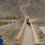 Die große Mauer bei Jiayuguan