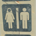 WC-Hinweis im Iran