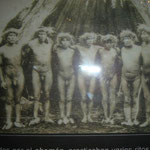 Ureinwohner Feuerlands (Museo Nacional, Santiago de Chile)