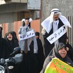 Demo gegen die Saudis und Obama (Theran, 2015)