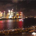 Shanghai/Pudong vom Bund aus (2013)
